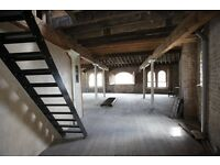 Warehouse attic location for filming and photography