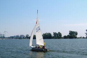 16 foot sailboat -Wayfarer by Abbott