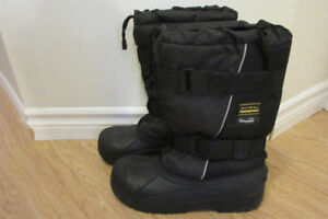 Quality Snowmobile Winter Reaction Snow Boots