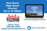25mbps Rural Highspeed Internet - Prince Albert and Area!!!