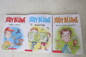 3 books by Judy Blume (in english)