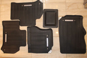 All weather Range Rover Sport HSE OEM New Rubber Mats 2014-18