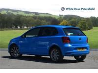 2015 Volkswagen Polo SE Design 1.2 TSI 90PS 5-speed Manual 5 Door Petrol blue Ma