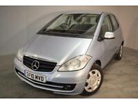 2010 MERCEDES A-CLASS A160 BLUEEFFICIENCY CLASSIC SE HATCHBACK PETROL