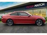 2018 BMW 4 Series 420D XDRIVE M SPORT AUTO Coupe Diesel Automatic