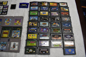 Lots of Gameboy Advanced Games