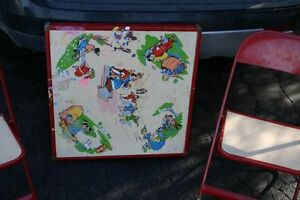 VINTAGE KID'S METAL TABLE&CHAIRS/TOYS/COLLECTIBLES London Ontario image 2