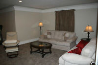 Basement Suite - Spacious and Luxuriously appointed!