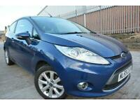 FORD FIESTA ZETEC 1.25 3 DOOR*2 LADY OWNERS*12 MONTHS MOT*ALLOYS*AIR CON*