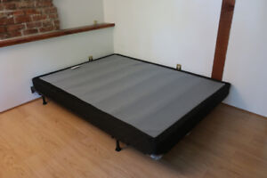 Queen-Size Boxspring and Bedframe