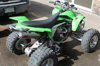 PRICE REDUCED $1,600 - Kawasaki KFX 450R Quad