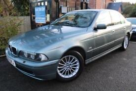 2002 BMW 5 SERIES 530d SE Green 4 Door Leather Seats Diesel Car