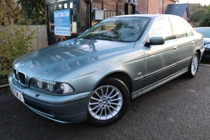 2002 BMW 5 SERIES 530d SE Green 4