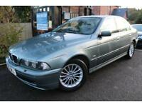 2002 BMW 5 SERIES 530d SE Green 4 Door Leather Seats Diesel Car