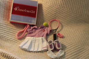 American Girl Tennis outfit with original box