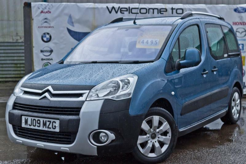 2009 citroen berlingo 1 6 multispace xtr hdi diesel 90 bhp new mot towbar diese in cardiff. Black Bedroom Furniture Sets. Home Design Ideas