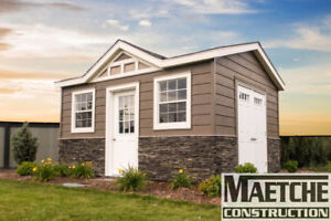 Custom Garden Sheds by Maetche Construction