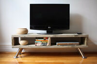 Meuble TV tele / banc - TV stand/ bench