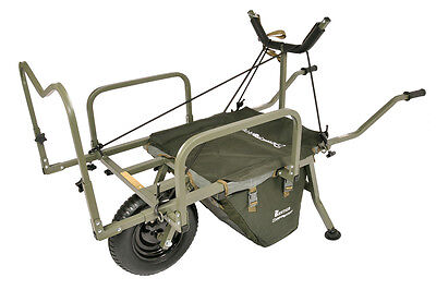 Prestige Carp Porter NEW MK2 Fishing Barrow - FREE MIDDLE BAG + SPARES