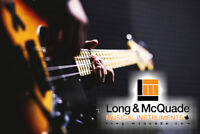 BASS GUITAR LESSONS in North York (Long & McQuade)