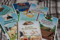 7 pocket encyclopias in French