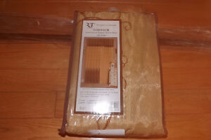 """Norwich Double Panel Curtain 60""""X84"""" New with Rod"""