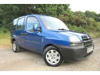 2005 55 FIAT DOBLO 1.9JTD ACTIVE DIESEL MINI MPV