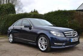 2012 MERCEDES C-CLASS C250 CDI BLUEEFFICIENCY AMG SPORT AUTO SALOON DIESEL