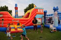 PIRATE SHIP BOUNCY HOUSE COMBO - $3000.00 - COMMERCIAL GRADE