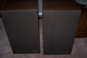 2 JVC Speakers 12X16X25 inches tall