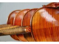 Fine old violins for sale!