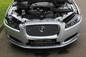 2012 61 JAGUAR XF 3.0 V6 LUXURY 4D AUTO 240 BHP DIESEL