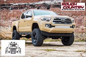 Rough Country - Suspension (lift kit) 6 pcs Tacoma 4WD 16-17