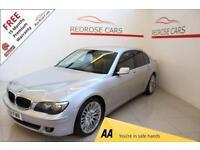 2008 08 BMW 7 SERIES 3.0 730D SPORT 4D AUTO 228 BHP DIESEL
