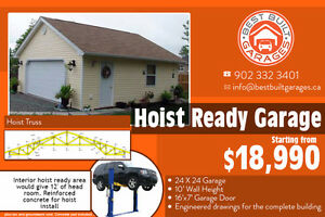 Hoist Ready GARAGE