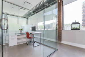 AMAZING PRIVATE OFFICES AVAILABLE NOW!