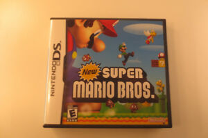 Like new and in box Super Mario Bros ds game