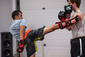 PRIVATE/SEMI PRIVATE SESSION KICKBOXING