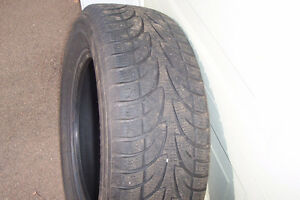 Two P245x65Rx17 tires