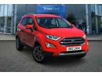 2018 Ford Ecosport 1.0 EcoBoost 125 Titanium 5dr **Rear Parking Camera with Reve