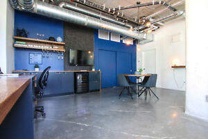 Modern professionally designed office - Fully Furnished
