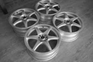 """4x Mags 17"""" bolt pattern universelle"""