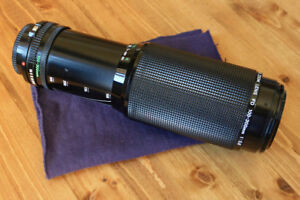 Canon FD 100-300mm Zoom f/5.6 Lens (Manual Focus)