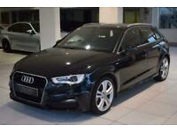 2013 Audi A3 1.4 TFSI S line Sportback S Tronic 5dr Hatchback Petrol Automatic