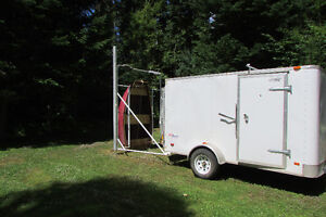Cargo Trailer with Boat Loader