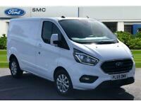 2020 Ford Transit Custom 2.0 EcoBlue 130ps Low Roof Limited Van Auto Panel Van D
