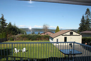 OCEAN VIEW home + HUGE SHOP; 2 MINUTES TO BEACH Campbell River Comox Valley Area image 3