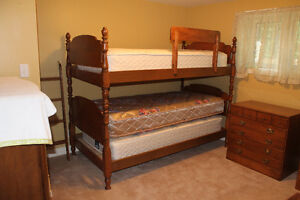 BUNK BEDS & DRESSERS