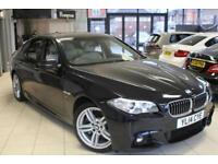 2014 14 BMW 5 SERIES 3.0 530D M SPORT 4D AUTO 255 BHP DIESEL