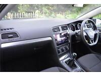 2017 Volkswagen Golf S 1.6 TDI 115PS 5-speed Manual 5 Door Diesel silver Manual